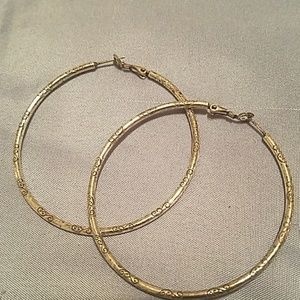 Brighton Large Hoop Earrings
